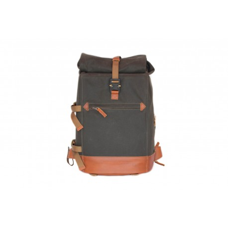 Compagnon The backpack - grønn/lys brun