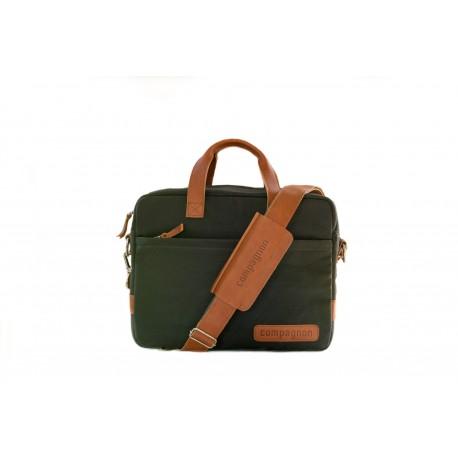 Compagnon the portfolio - grønn/lys brun
